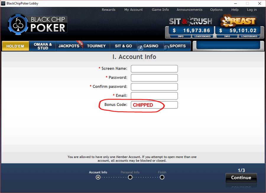 Bonus poker cupom de 161906