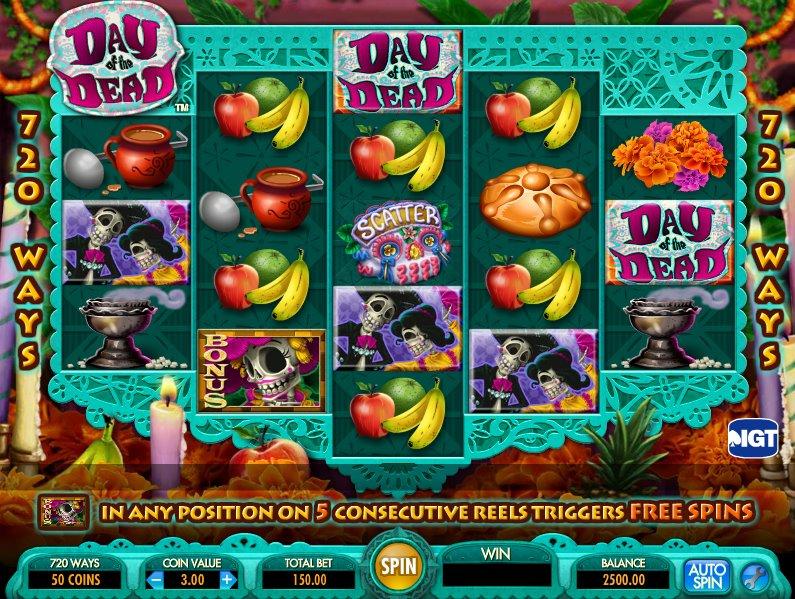 Slots machines muertitos 230450
