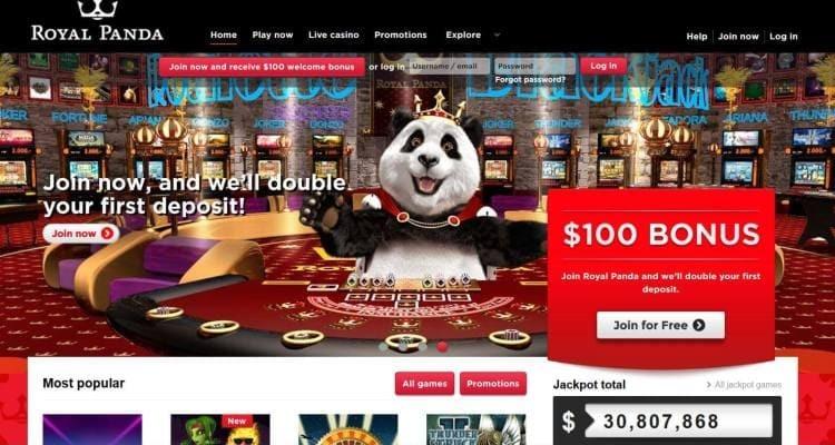 Royal Panda bitcoin casino 407994