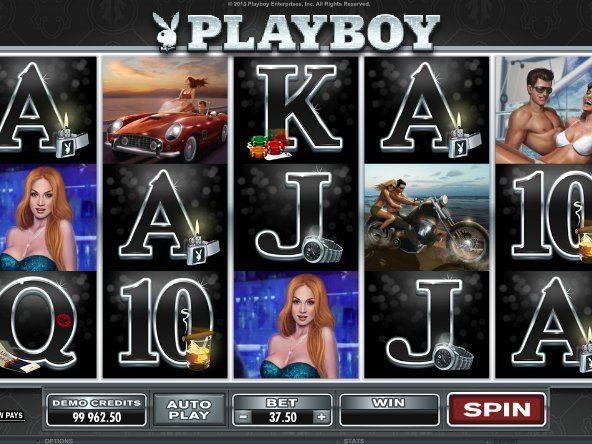 Playboy caça níquel 358745