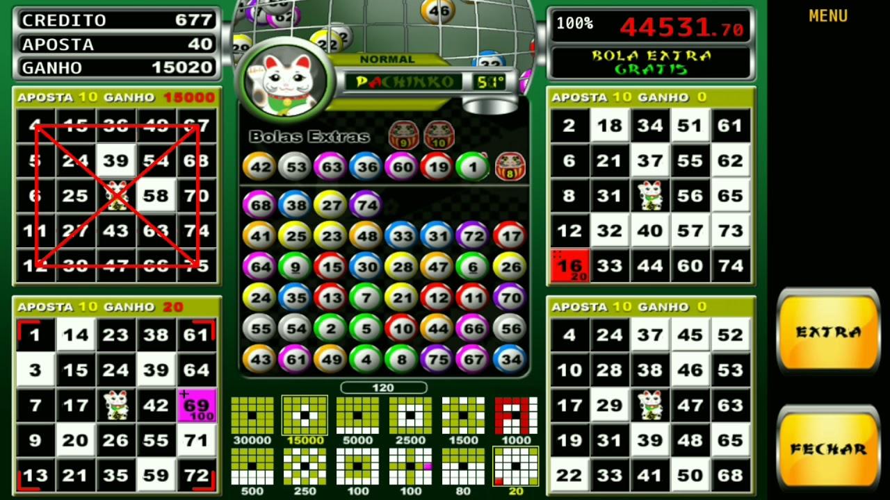 Pachinko vídeo bingo fornecedores 607218