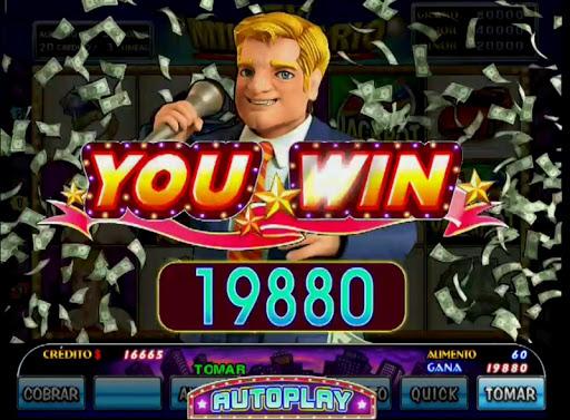 Caça niquel milionário simulador 451399