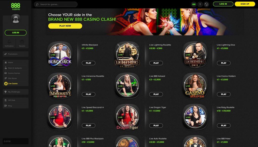 Licenciado casino 888 646152