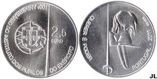 Portugal moedas euro 743481