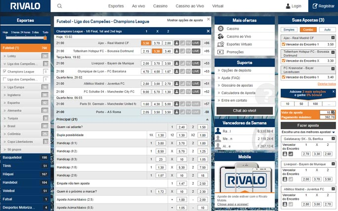 Rivalo cupom 727890