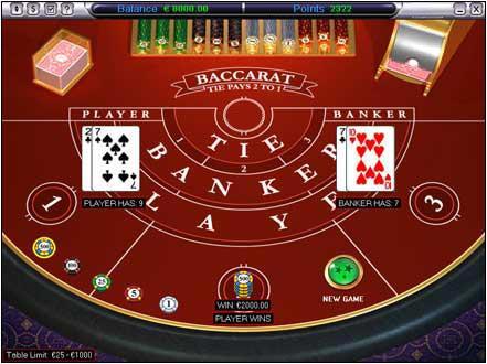 Baccarat jogo trading 623146