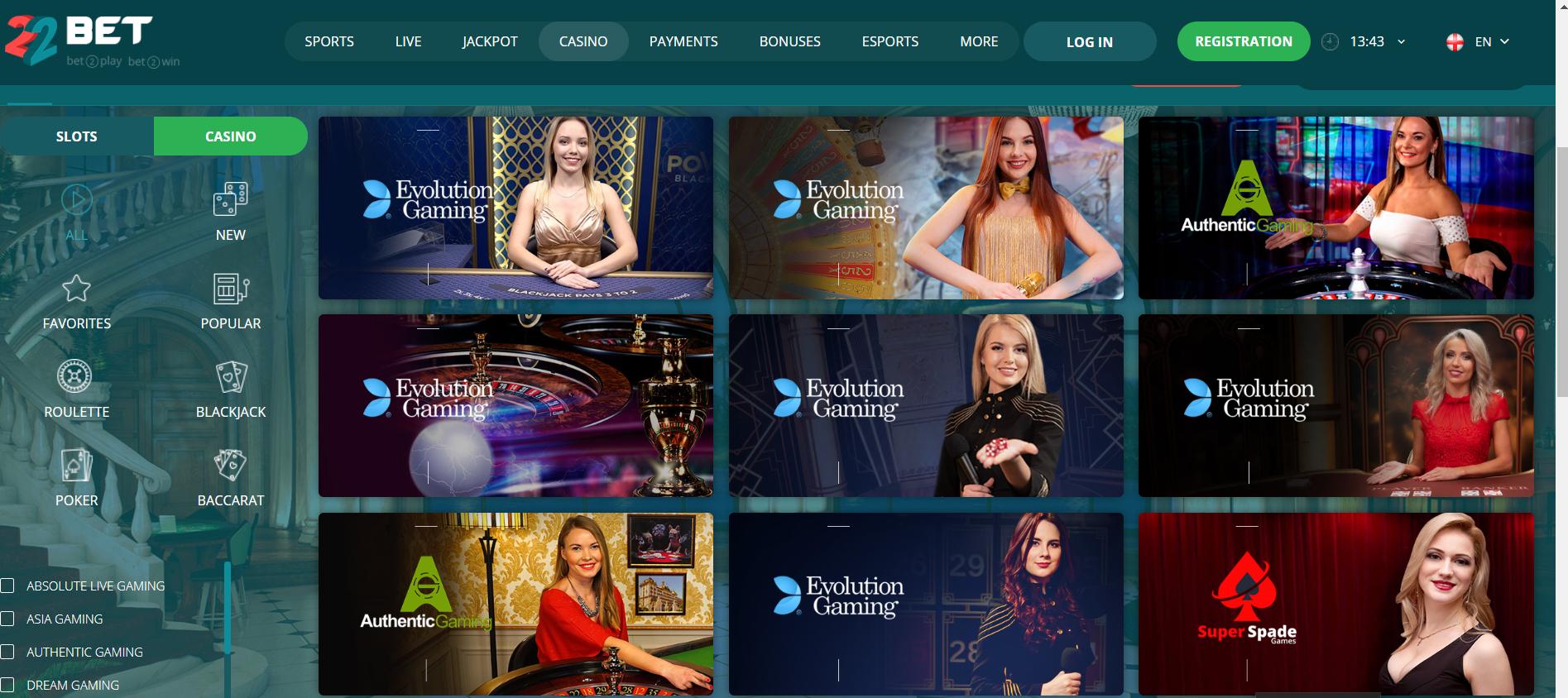 Casinos principal populares 244644