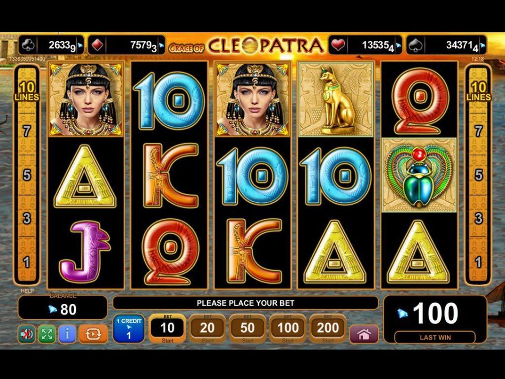 Cleopatra caça níquel legal 246588