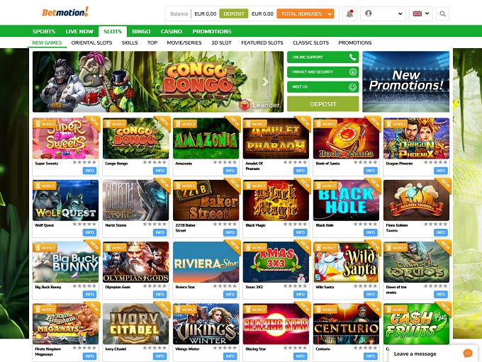 Casino betmotion online Portugal 266598