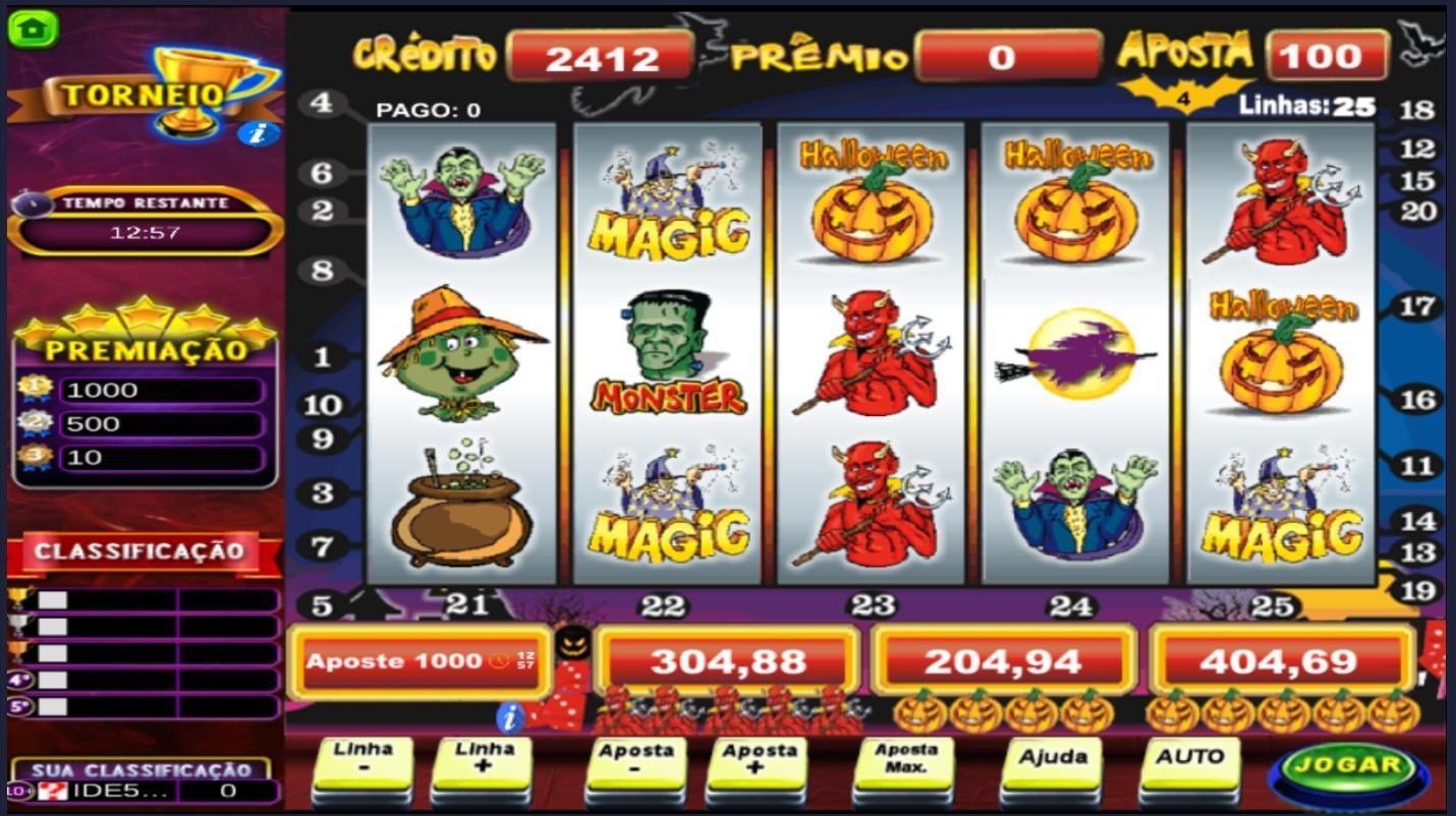 Halloween caça níquel temperance 320494