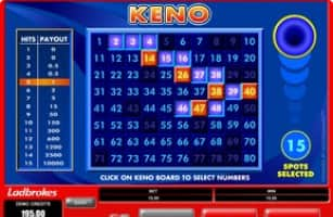 Keno draw National 164769