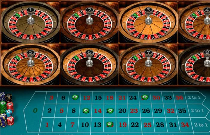 Multiwheel roulette 489105