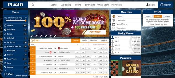 Rivalo bonus online 580393