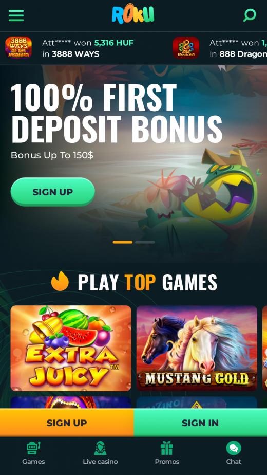Roku app poker saque 554689