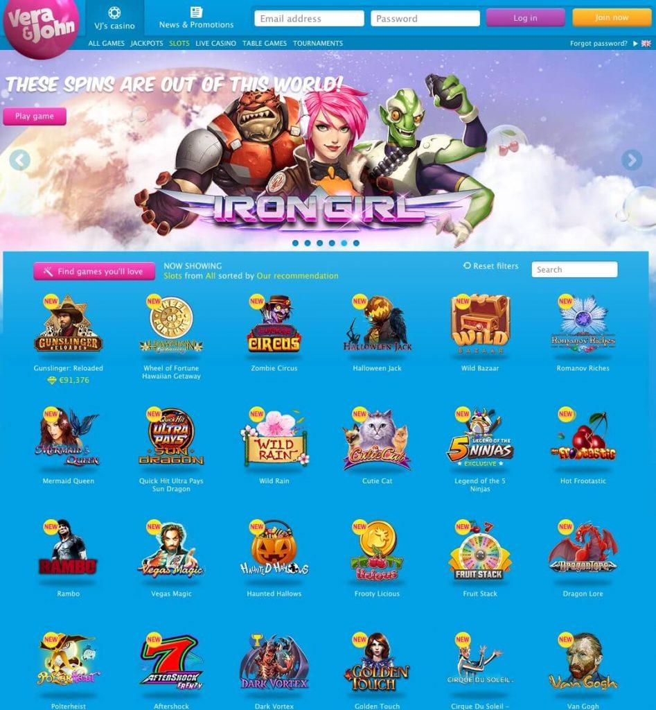 Vera&John mobile casino grandes 631618